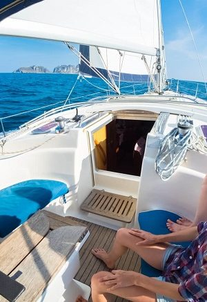 vacations on a yacht